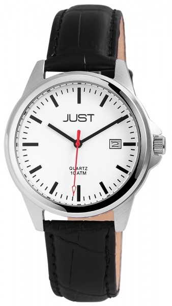 Just JU236 Analog mit Echtlederband - UVP 39,95 €