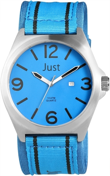 Just JU201 Analog Herrenuhr mit Textilband - UVP 39,95 €