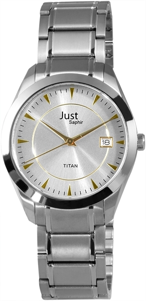 Just JU172 Analog Herrenuhr mit Titanband - UVP 89,95 €