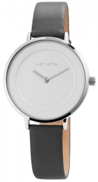 Just Watch Analog Damenuhr mit Echtlederband - UVP 49,95 €