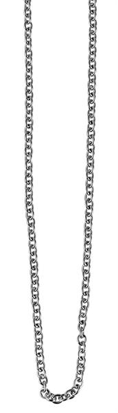 Akzent Edelstahl Halskette, Länge: 45 cm - 80 cm / Stärke: 2 mm VE-10