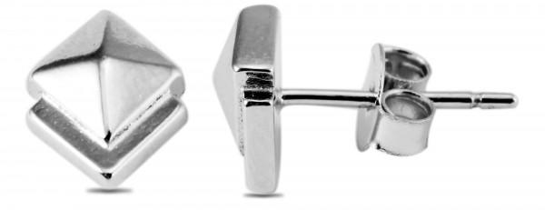 925 Silber Ohrstecker, 925/, 1,7 gr., rhodiniert