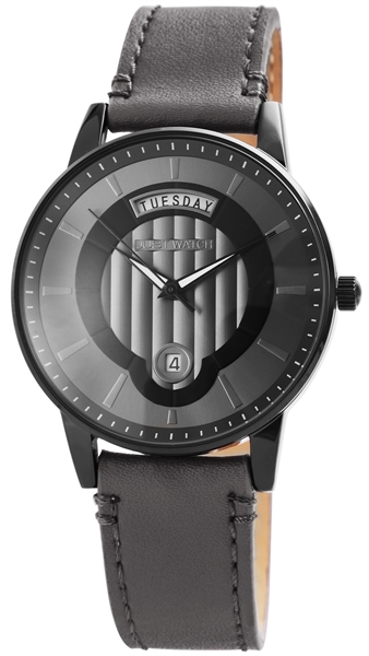 Just Watch Analog Herrenuhr mit Echtlederband - UVP 49,95 €