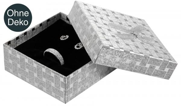 Schmuckbox, VE 12, Maße: 9 x 9 x 3,5 cm