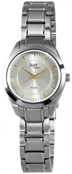 Just 48-S41249 Analog Damenuhr mit Titanband - UVP 89,95 €