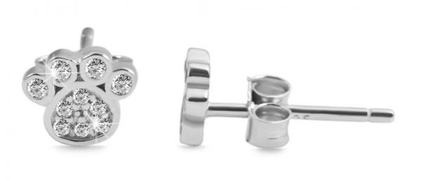 925 Silber Ohrringe, 925/rhodiniert, 0,97g