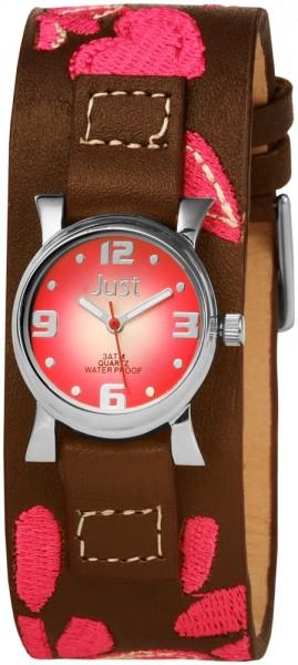Just JU132 Analog Damenuhr mit Echtlederband - UVP 44,90€