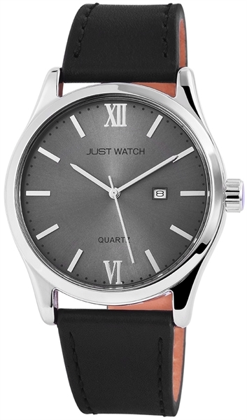 Just Watch JW068 Analog Herrenuhr mit Echtlederband - UVP 39,95 €