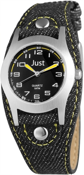 Just JU320 Analog Kinderuhr mit Textilband - UVP 29,95 €