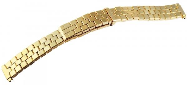 Zugband, Edelstahl, goldfarbig,