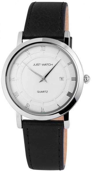 Just Watch JW007 Analog Herrenuhr mit Echtlederband - UVP 49,95 €