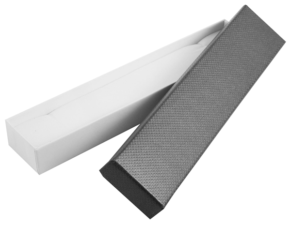 Schmuckverpackung, VE 12, Maße: 21,5 x 4,5 x 2,5 cm