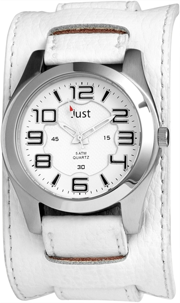 Just JU154 Analog Herrenuhr mit Echtlederband - UVP 39,95 €