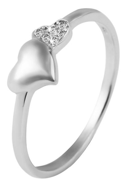 925 Silber Ring, 925/rhodiniert, 1,4g