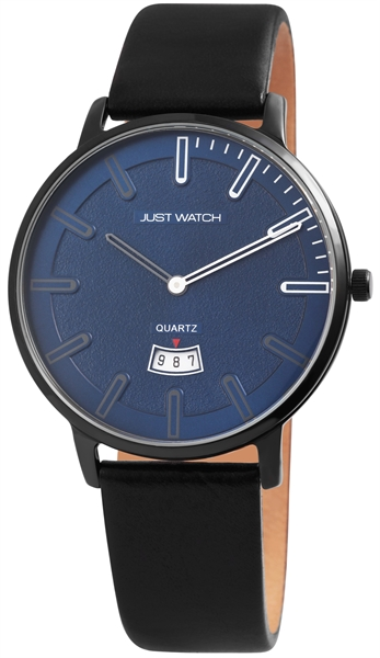 Just Watch JW130 Analog Herrenuhr mit Echtlederband - UVP 49,95€
