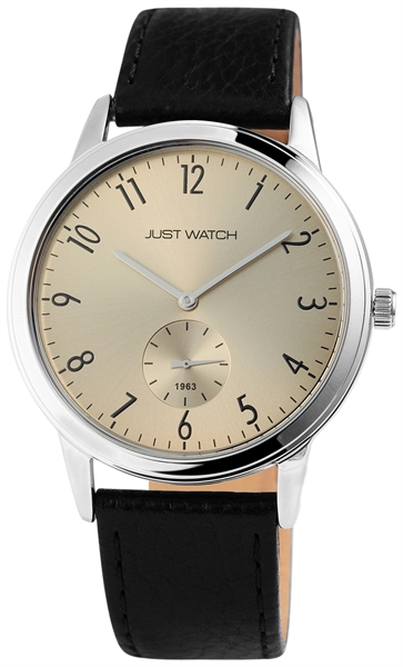Just Watch JW0012 Analog Herrenuhr mit Echtlederband - UVP 49,95 €
