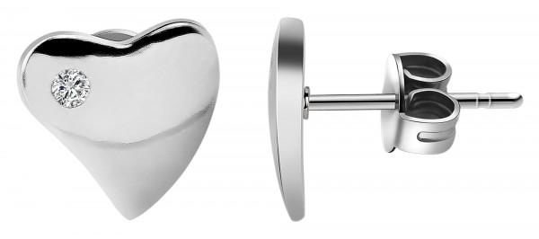 Echt Silber Ohrstecker, 925/, 1,6 gr., rhodiniert
