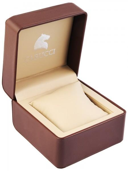 Carucci Uhrenbox , braun 120 x 122 x 8 mm