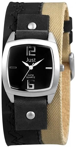 Just JU045 Analog Damenuhr mit Echtlederband - UVP 64,90 €