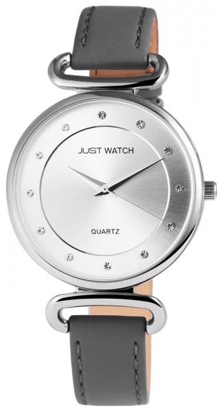 Just Watch JW044 Analog Damenuhr mit Echtlederband - UVP 39,95€