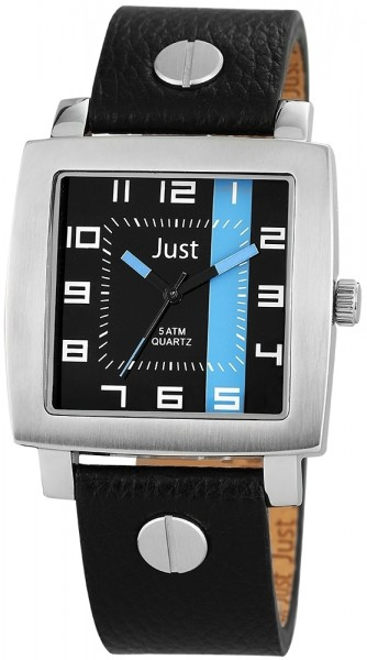 Just JU159 Analog Herrenuhr mit Echtlederband - UVP 54,95€