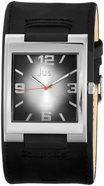 Just JU185 Analog Herrenuhr mit Echtlederband - UVP 39,95 €