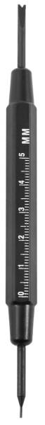 Federstegwerkzeug, Länge: 150 mm, schwarz