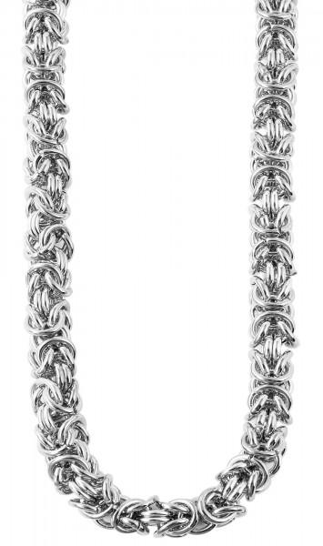 Akzent Edelstahl Damen Halskette, Länge: 45 cm / Stärke: 7 mm