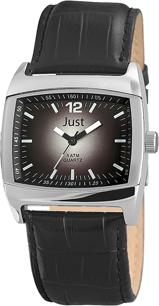 Just JU143 Analog Herrenuhr mit Echtlederband - UVP 39,95€