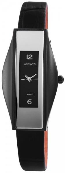Just Watch JW053 Analog Damenuhr mit Echtlederband - UVP 29,95 €