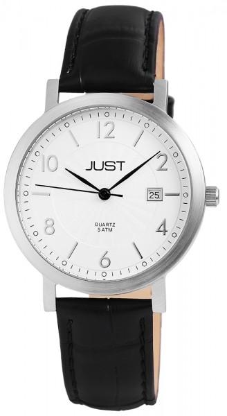 Just JU056 Analog Herrenuhr mit Echtlederband - UVP 39,95 €