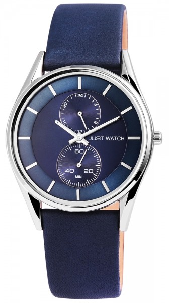 Just Watch JW067 Analog Herrenuhr mit Echtlederband - UVP 59,95 €