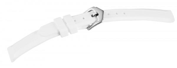 Kautschuck Armband, weiß