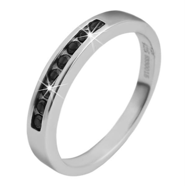 925 Silber Ring, 925/rhodiniert, 2,3g