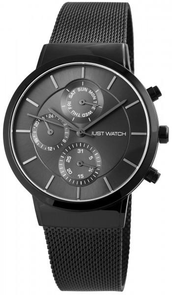 Just Watch JW127 Analog Herrenuhr mit Edelstahlband - UVP 79,95€