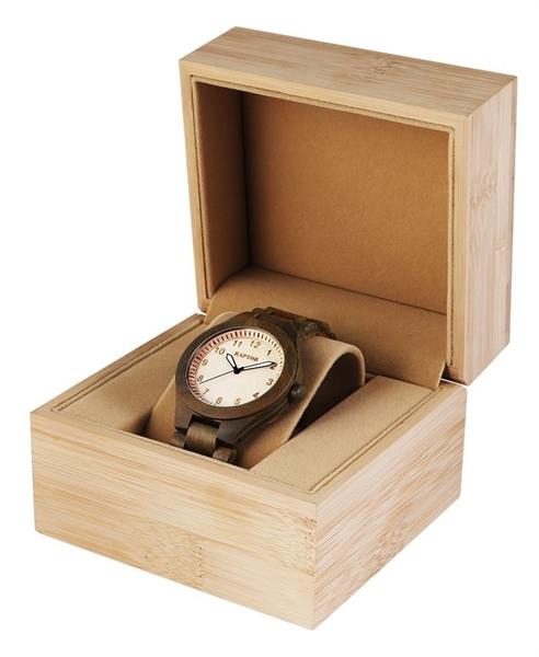 Raptor Box aus Bambus, 12x11x9 cm