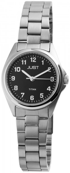 Just JU238 Analog Damenuhr mit Titanband - UVP 59,90€