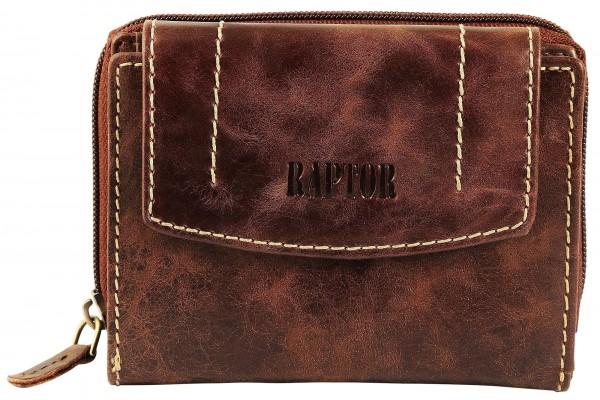 Raptor Damen Geldbörse aus Echtleder - UVP 39,95 €