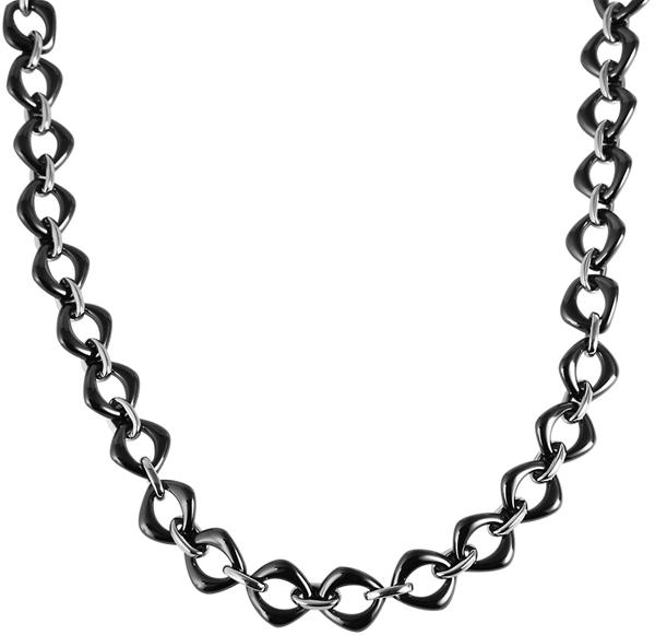 Just Halskette aus Keramik und Edelstahl l UVP 79,90 €