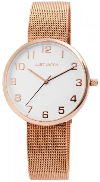 Just Watch JW116 Analog Damenuhr mit Edelstahlband - UVP 49,95€