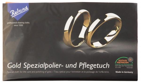 Gold Spezialpolier- und Pflegetuch, 24 x 30 cm