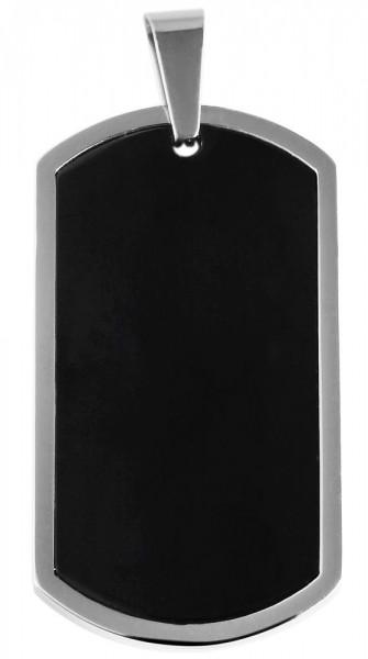 Akzent Edelstahlanhänger in , Breite: 24 mm / Höhe: 44 mm