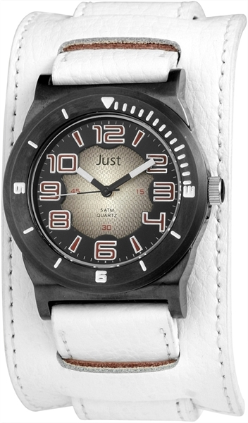 Just JU145 Analog Herrenuhr mit Echtlederband - UVP 49,95 €