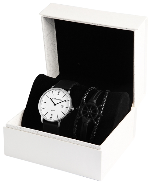 Just Watch Herrenuhr mit Armband im Set