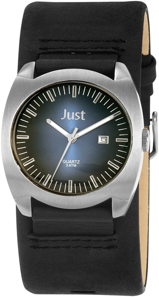 Just JU171 Analog Herrenuhr mit Echtlederband - UVP 39,95 €