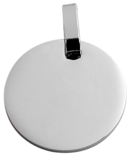 Akzent Edelstahlanhänger in , Durchmesser: 25 mm