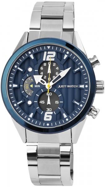 Just Watch Chronograph Herrenuhr mit Edelstahlband - UVP 79,95€