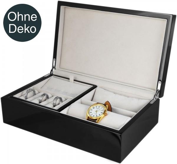 Hochwertige Uhrenbox, Maße: 26 x 16 x 8 cm