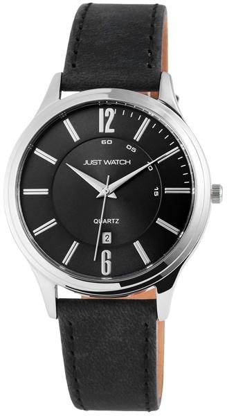 Just Watch Herrenuhr mit Echtlederband - UVP 49,95 €