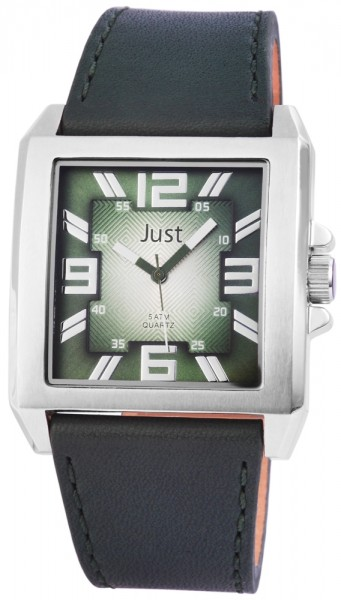 Just 48-S10302N Analog Herrenuhr mit Echtlederband - UVP 59,90 €
